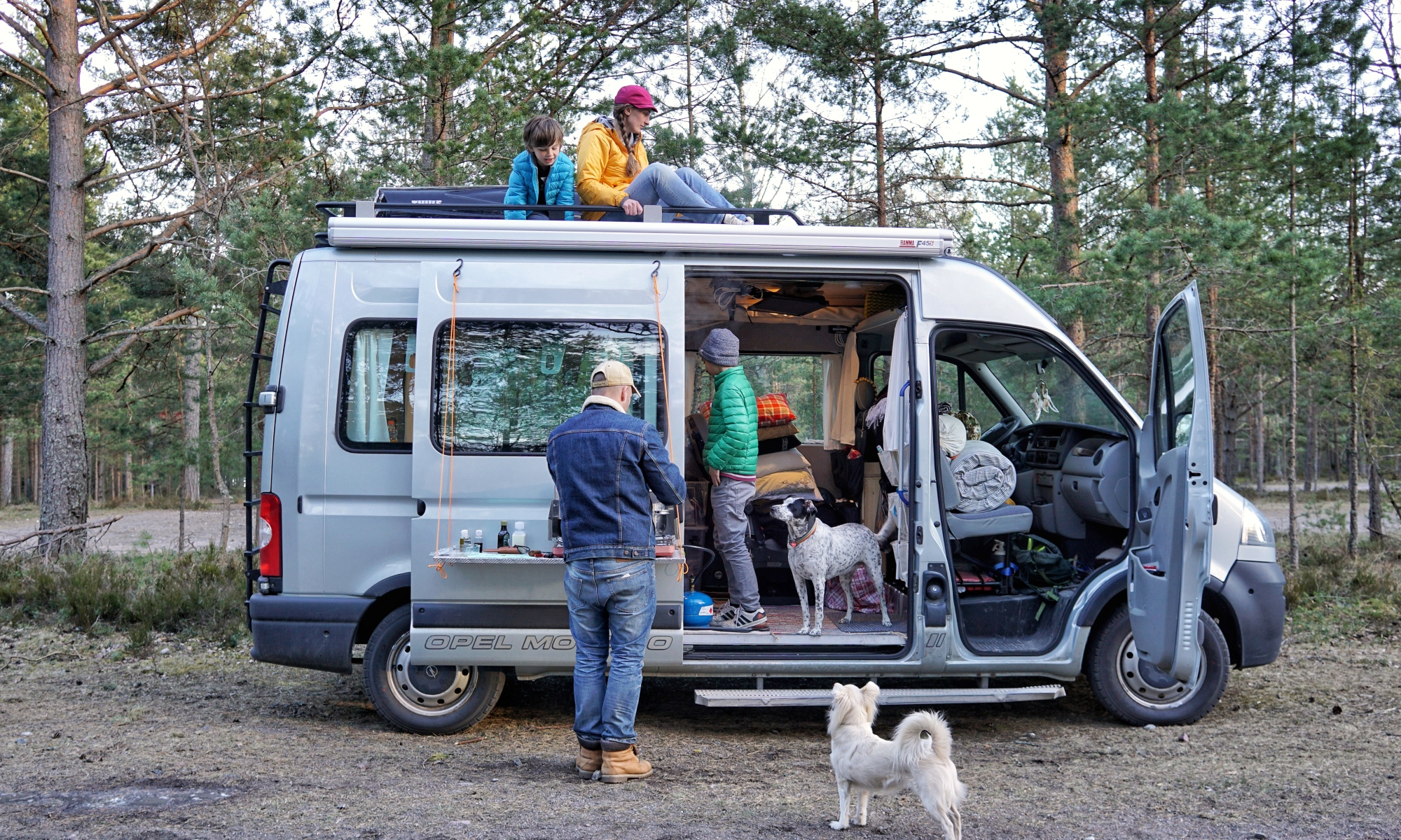 Swedish Vanlife O Weekend Warrior Family W Kids Dogs Dreams About Simple Living A Life On The Road Ingaro SWEDEN
