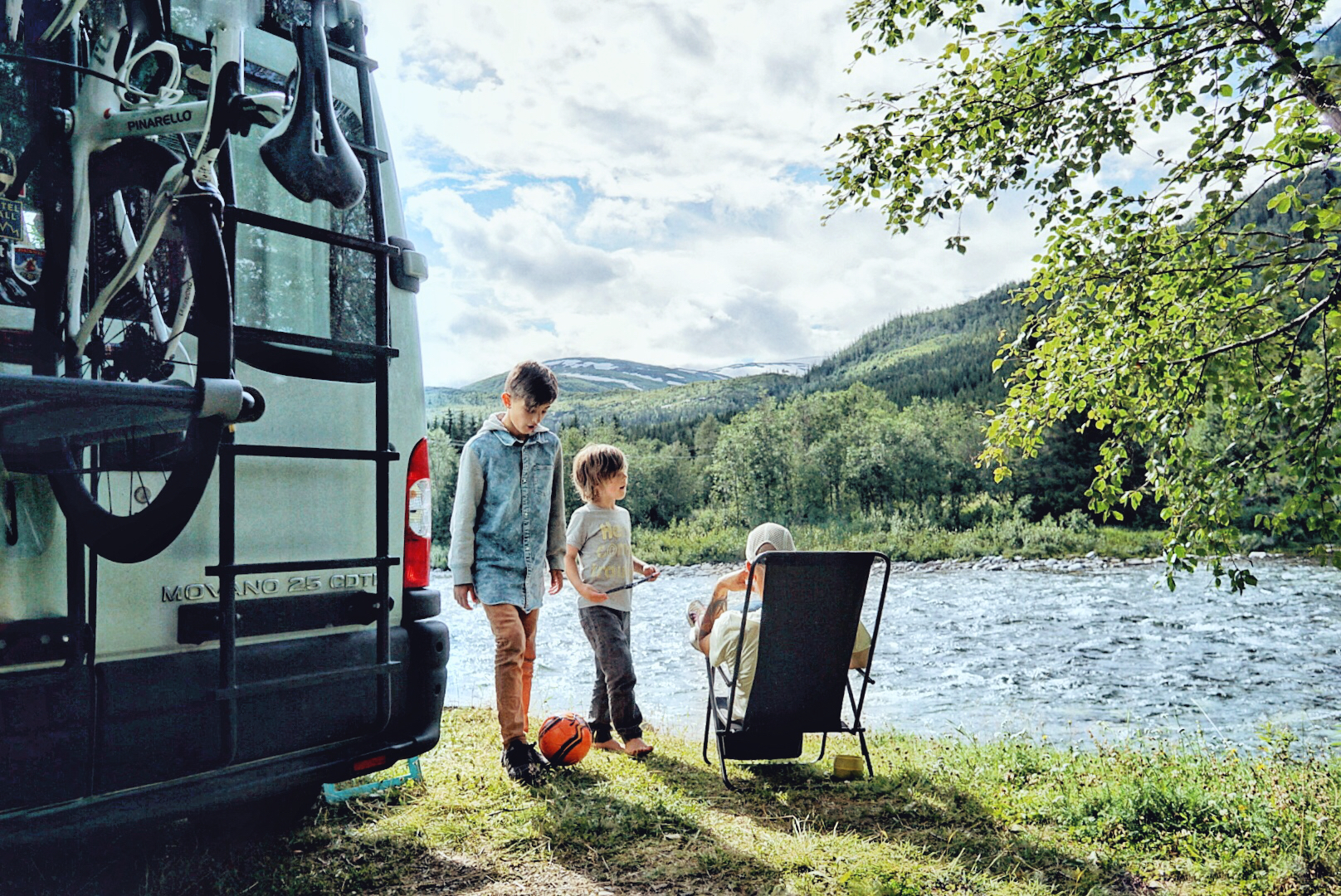 Vanlife with kids – The Horizon Is Calling